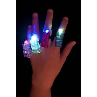 斯米菲的多色多闪烁手指灯