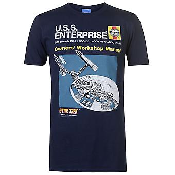 Character Mens Star Trek Tee Crew Neck Shirt