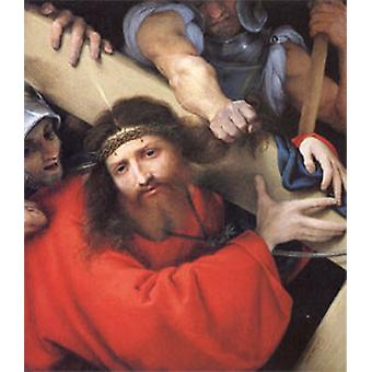 The Carrying of the Cross, Lorenzo Lotto