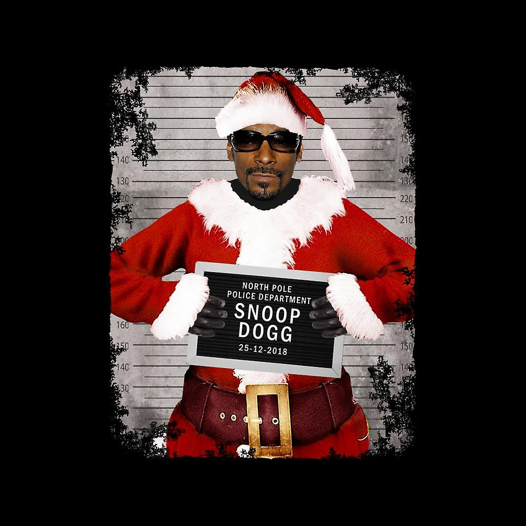 Snoop Dogg Christmas.Christmas Mugshot Snoop Dogg Men S Vest