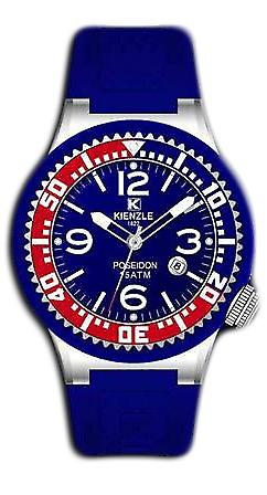 Waooh - Watches - Kienzle Poseidon Large (RED-BLUE)