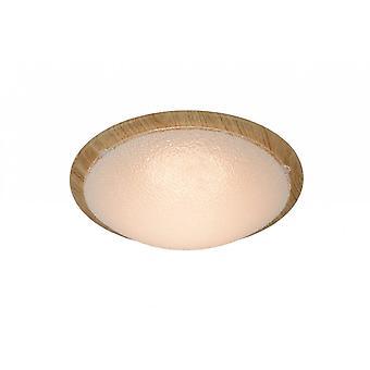 Яйца lucide Руне классические круглые металлические свет древесины флеш свет потолок