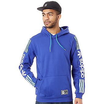 Adidas Active Blue-White-Active Green QRZ Hoody