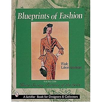 Ritningar av mode: hem symönster 1950 (Schiffer bok för Designers & samlare)