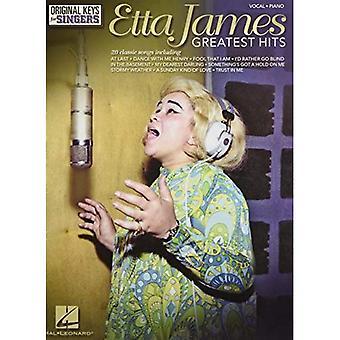 James Etta Greatest Hits Original Keys for Singers