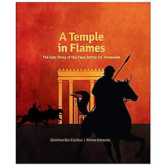 A Temple in Flames