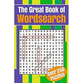 The Great Book of Wordsearch: Over 250 Puzzles (304pp royal paperbacks)