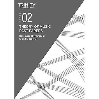 Trinity College London: Past Papers: Theory (Nov 2017) Grade 2