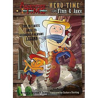 Adventure Time - Hero Time� with Finn and Jake