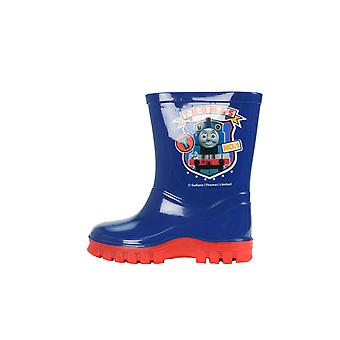 Thomas The Tank Engine Boys Thomas No1 Slip On Wellington Boots UK Sizes Child 5-10