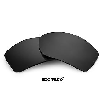BIG TACO Replacement Lenses Polarized Silver & Green by SEEK fits OAKLEY