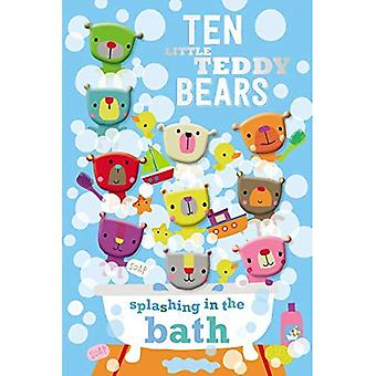 Dix petits oursons éclaboussures dans le bain [cartonné]