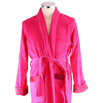 Bown of London Fuchsia Berry Short Dressing Gown - Pink