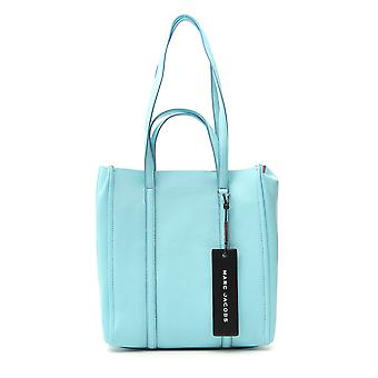 Marc Jacobs Light Blue Leather Tote