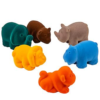 Wild Animals (6 PCS)