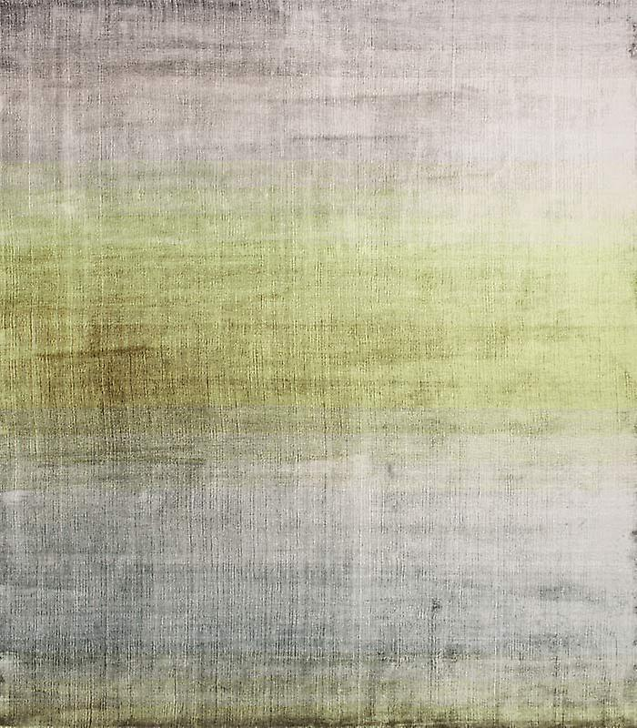 Rugs - Linie Grace - Green & Silver