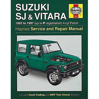 Suzuki SJ Series - Vitara - Service and Repair Manual - 9780857339928