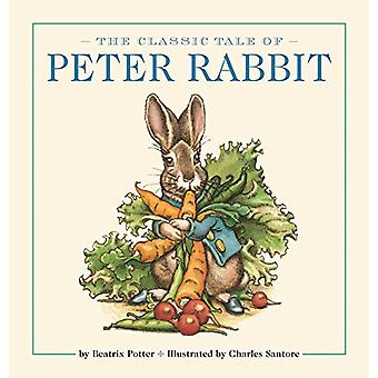 The Peter Rabbit Oversized Padded Board Book - The Classic Edition by