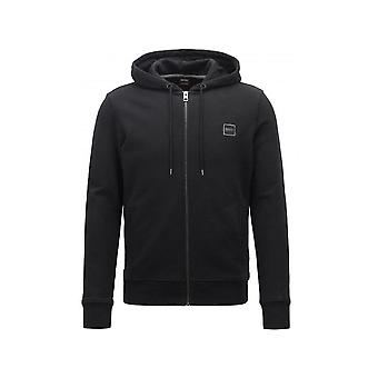 Hugo Boss Casual Men's Black Znacks Hooded Tracksuit