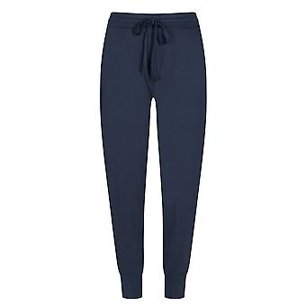 Mey Women 16958-408 Women's Night2Day Demi Night Blue Cotton Loungewear Pant