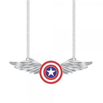 Ketting-Marvel-Captain America w/Wing nieuw speelgoed gelicentieerd fj2zq3mvl