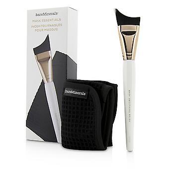 BareMinerals Maske Essentials - Glättung Pinsel und Entfernung Tuch 2pcs