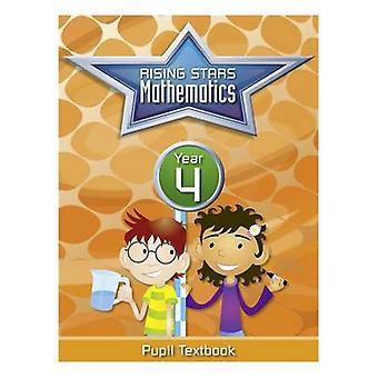 Rising Stars Mathematics Year 4 Textbook by Caroline Clissold - Heath