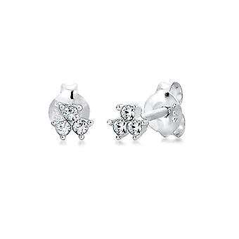 Elli Silver Women's Stud Earrings - 306292717
