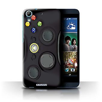 STUFF4 Case/Cover voor HTC Desire 626G +/ zwart Xbox 360/gameconsole
