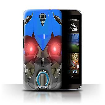 STUFF4 Case/Cover for HTC Desire 820 Mini/Bumble-Bot Blue/Robots