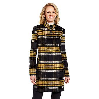 Ladies Womens Funnel Neck Coat