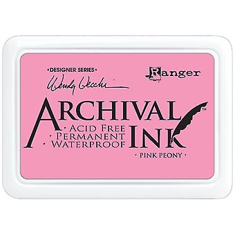 Wendy Vecchi Designer Series Archival Ink Pad-Pink Peony AID-45649
