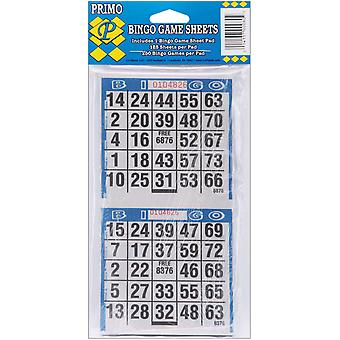 Bingo Game Sheets 125 Pkg 80