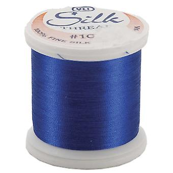 Silk Thread 100 Weight 200 Meters Royal Blue 202 10 209