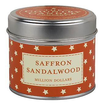 Superstars Collection Candle in a Tin - Saffron Sandalwood