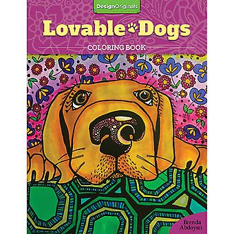 Design Originals-Lovable Dogs Coloring Book DO-01675