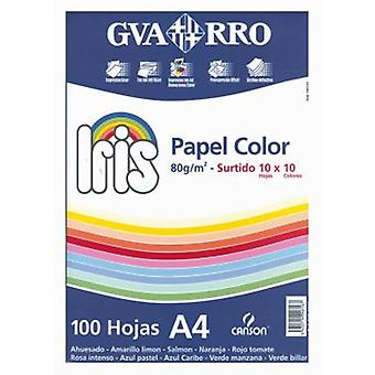 CPA 100 A4 Repro Pack Assorted Colors Iris (Toys , School Zone , Accessories)