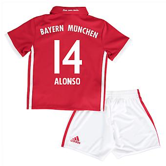 2016-17 Bayern Munich Home Mini Kit (Alonso 14)