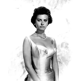 Sophia Loren Portrait Circa 1959 Photo Print