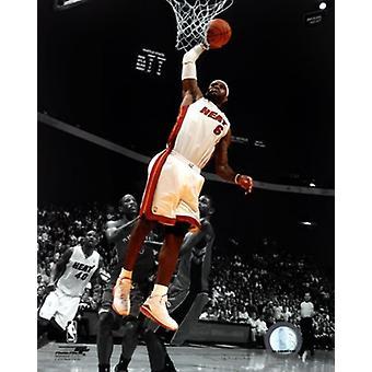 LeBron James 2010-11 Spotlight actie sport foto