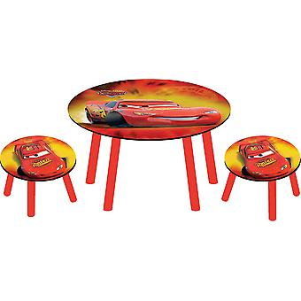 Set table + 2 Stools Disney Pixar Cars