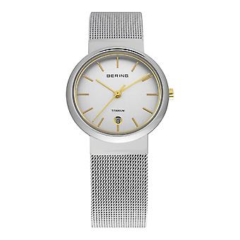 Bering ladies watch wristwatch stainless steel slim classic - 11029-004 Meshband