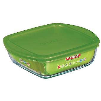 Pyrex 20x17x5.5 cm square container lid Cook & Store