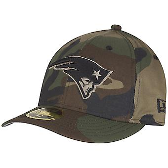 New era 59Fifty LOW PROFILE Cap - New England Patriots wood