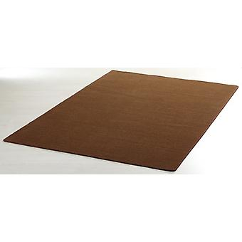 Designer carpet nasty floor | Short-pile Brown