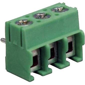 Screw terminal Number of pins 3 MA114-500M03 DECA Green 1 pc(s)