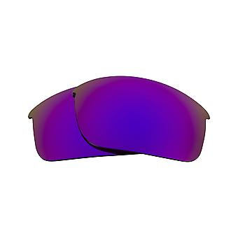 New SEEK Polarized Replacement Lenses for Oakley BOTTLE ROCKET Purple Mirror