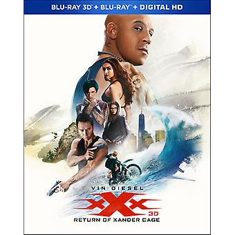 XXX: Der Return of Xander Cage [Blu-Ray] USA import