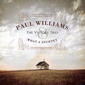 Paul Williams & sejr Trio - hvad et rejse [CD] USA importerer