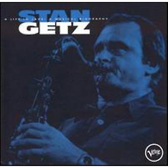 Stan Getz - liv i Jazz-Musical Biograph [CD] USA import